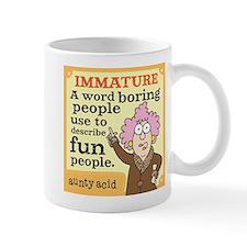 Aunty Acid: Immature Mug