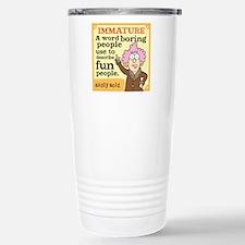 Aunty Acid: Immature Travel Mug