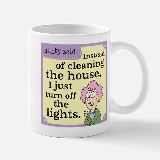 Aunty Acid: Cleaning House Mug