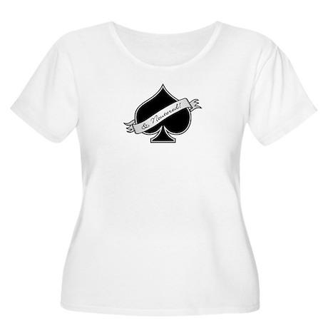 Spade & Neutered (black) Women's Plus Size Scoop N