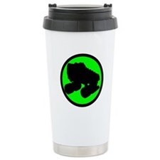 Circle Skate Green Travel Mug