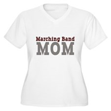 maroon_grey_mom_bl Plus Size T-Shirt