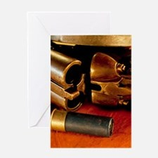 Shooting Clays Greeting Card