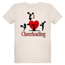 I Heart Cheerleading T-Shirt