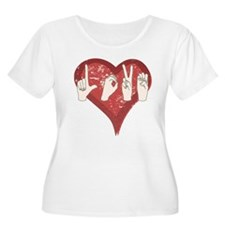 Unique American heart T-Shirt