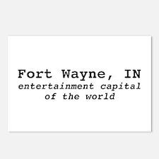 "Ft. Wayne ""entertainment capi Postcards (Package o"