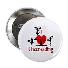 """Cute Cheering 2.25"""" Button (100 pack)"""