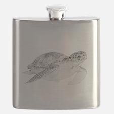 Honu Turtle Flask