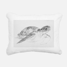 Honu Rectangular Canvas Pillow