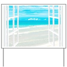 Oceanfront View Yard Sign
