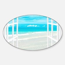 Oceanfront View Decal