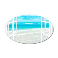 Oceanfront View Wall Decal
