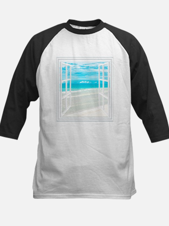 Oceanfront View Baseball Jersey
