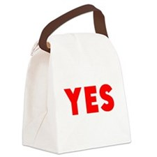Yes Canvas Lunch Bag