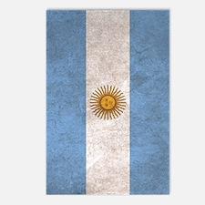 Argentina Flag  Postcards (Package of 8)