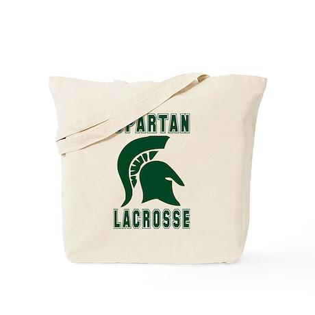 Lacrosse Spartan Tote Bag