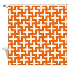Cool Syracuse orange Shower Curtain