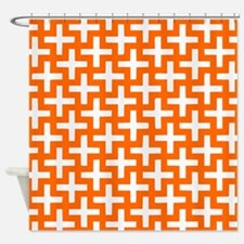 Funny Syracuse orange Shower Curtain