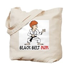 Black Belt Mom Tote Bag