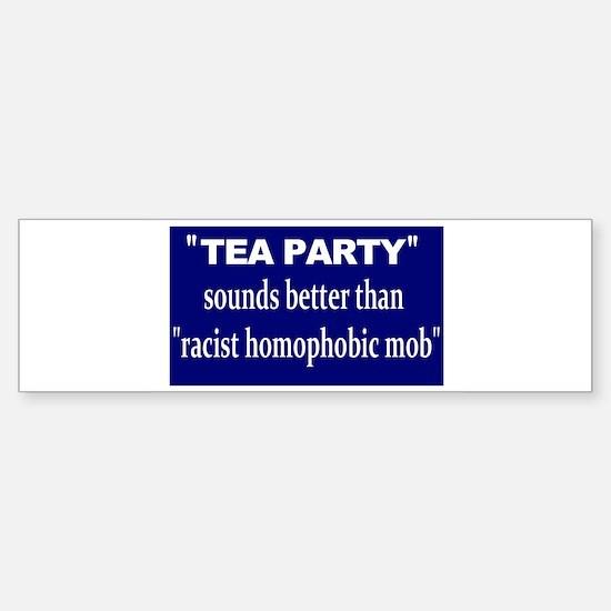 teaphobists Bumper Bumper Bumper Sticker