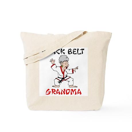 Black Belt Grandma Tote Bag