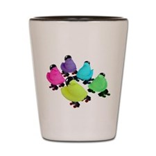 Roller Derby Peeps Shot Glass