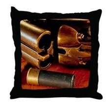 Shooting Clays Throw Pillow