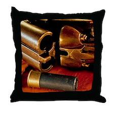 Shooting Clays Throw Pillow