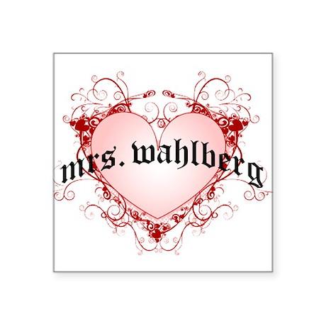 wahlberg Sticker