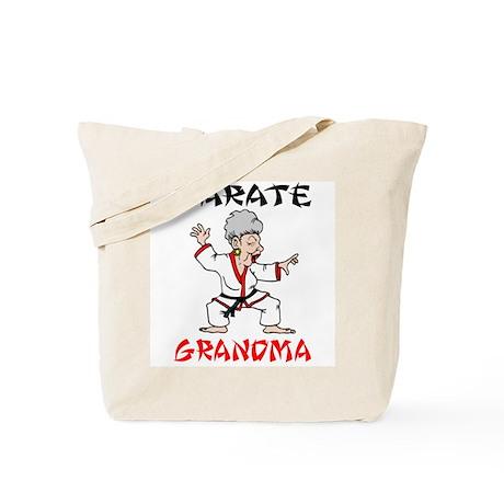Karate Grandma Tote Bag