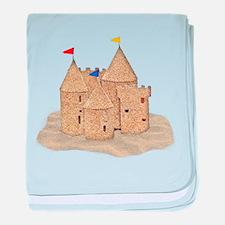 Cute Castles baby blanket