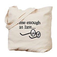 Time Enough At Last Tote Bag