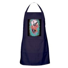 Efflorescence Greeting Card Apron (dark)