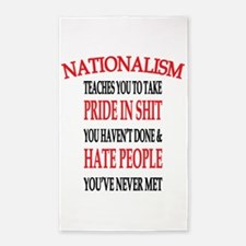 Nationalism Truth 3'x5' Area Rug