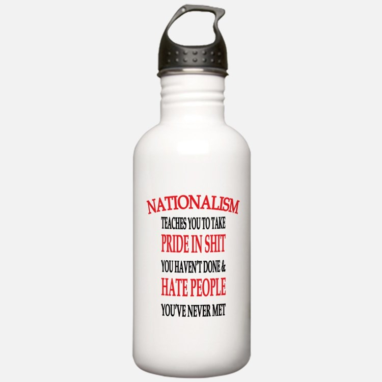 Nationalism Truth Water Bottle