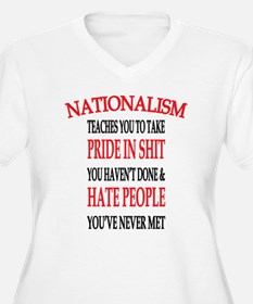 Nationalism Truth Plus Size T-Shirt