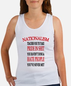 Nationalism Truth Tank Top