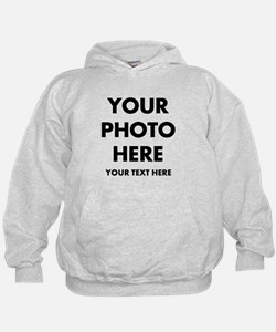 Customize Photo And Text Hoodie
