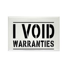 I Void Warranties Magnets
