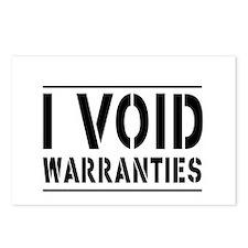 I Void Warranties Postcards (Package of 8)