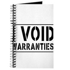 I Void Warranties Journal