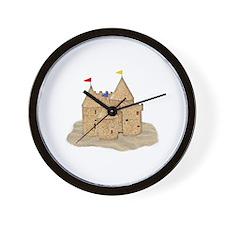 Unique Sandcastle Wall Clock