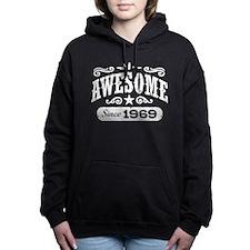 Awesome Since 1969 Women's Hooded Sweatshirt