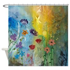 Mariposa Flipped Image By Robin Shower Curtain