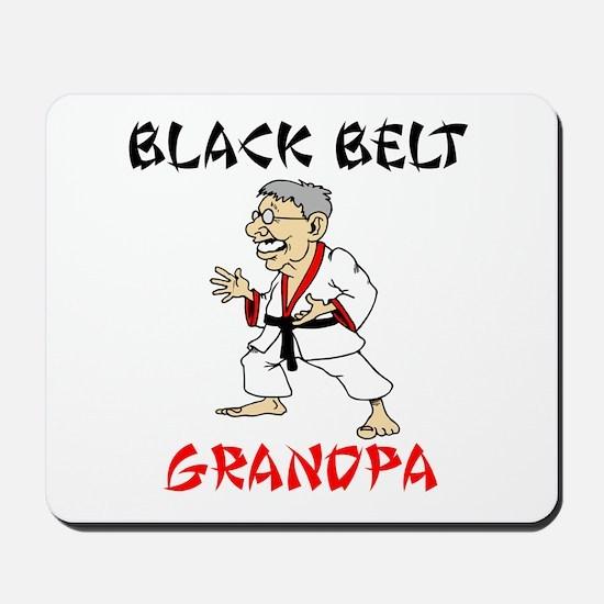 Black Belt Grandpa Mousepad