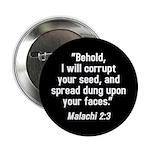 Malachi 2:3 Button