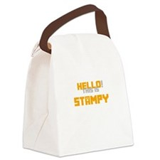 Hello! This is Stampy Canvas Lunch Bag