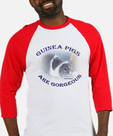 'Guinea Pigs Are Gorgeous' Baseball Jersey