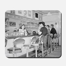 Lunch Counter, 1941 Mousepad