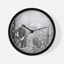 Funny New york city skyline Wall Clock
